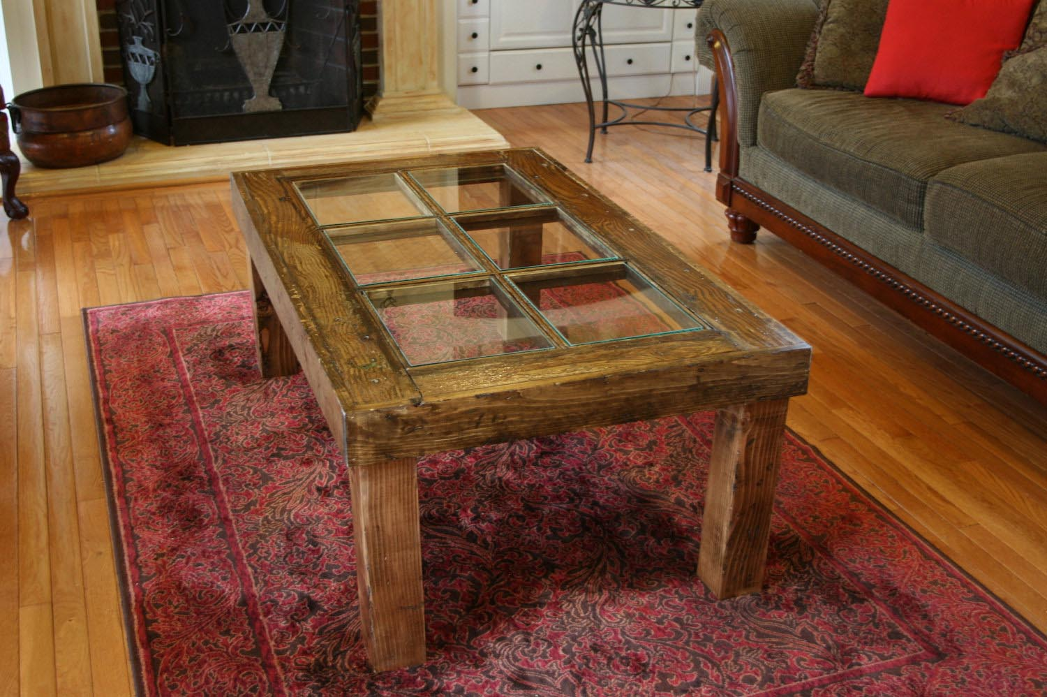 Antique Door Coffee Table Design Ideas