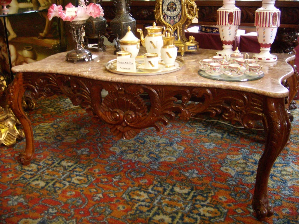 antique coffee table and its benefits antique marble coffee table
