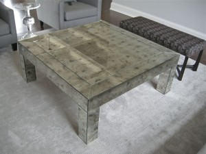 Antique Mirror Coffee Table