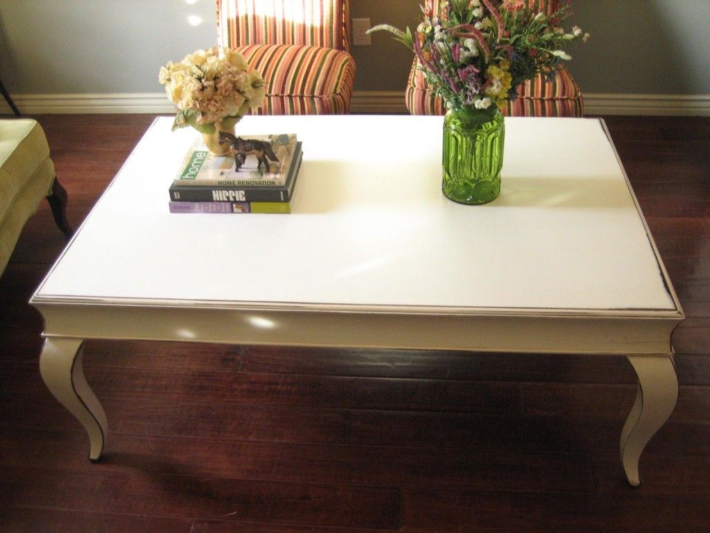 Antique White Coffee Table