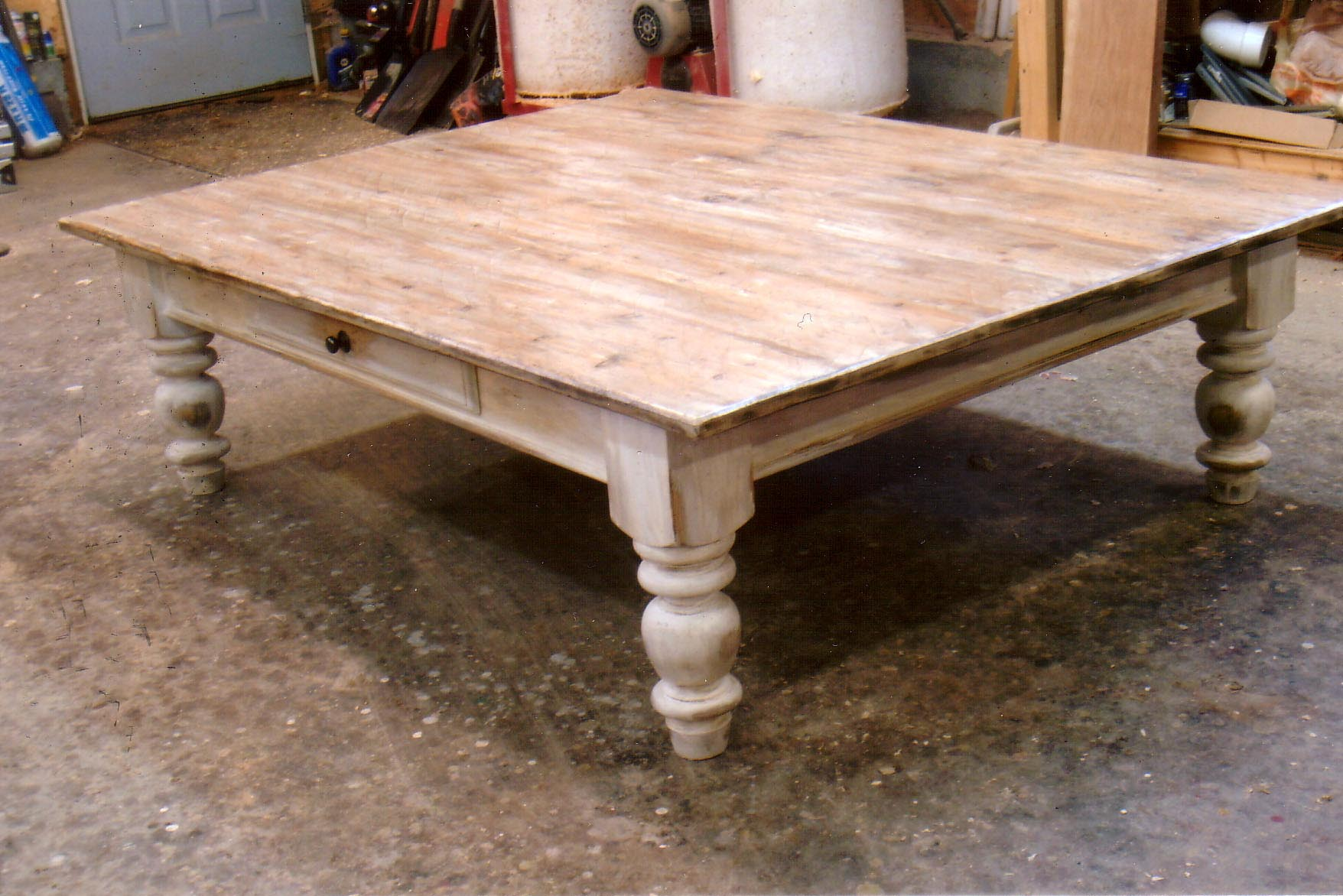 Old Wooden Table ~ Antique wood coffee table design ideas