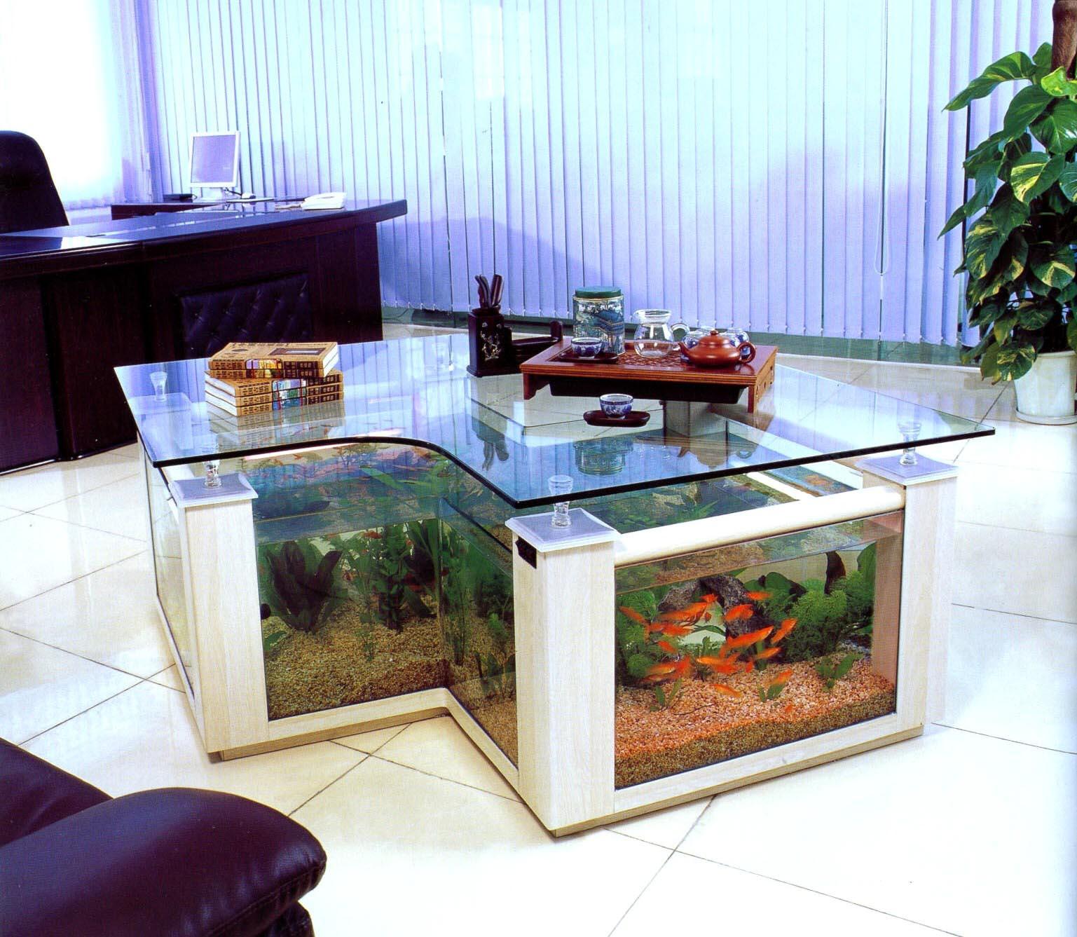 Aquarium Coffee Table Fish Tank