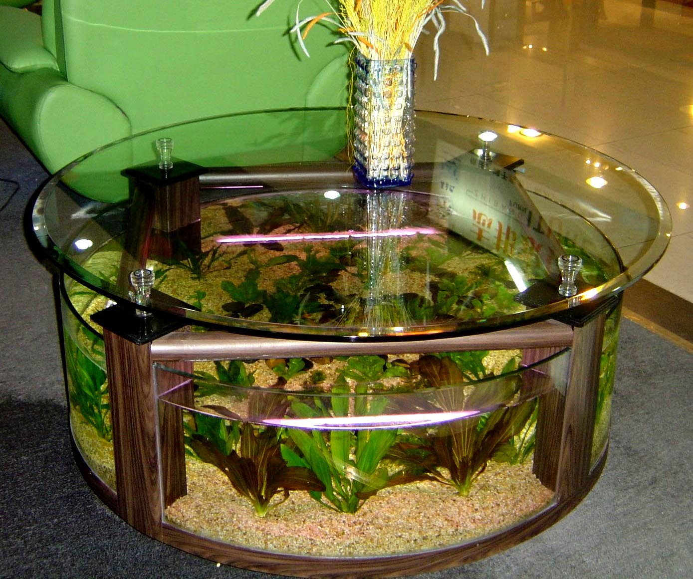 Cheap Aquarium Coffee Table