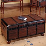 Chest as Coffee Table