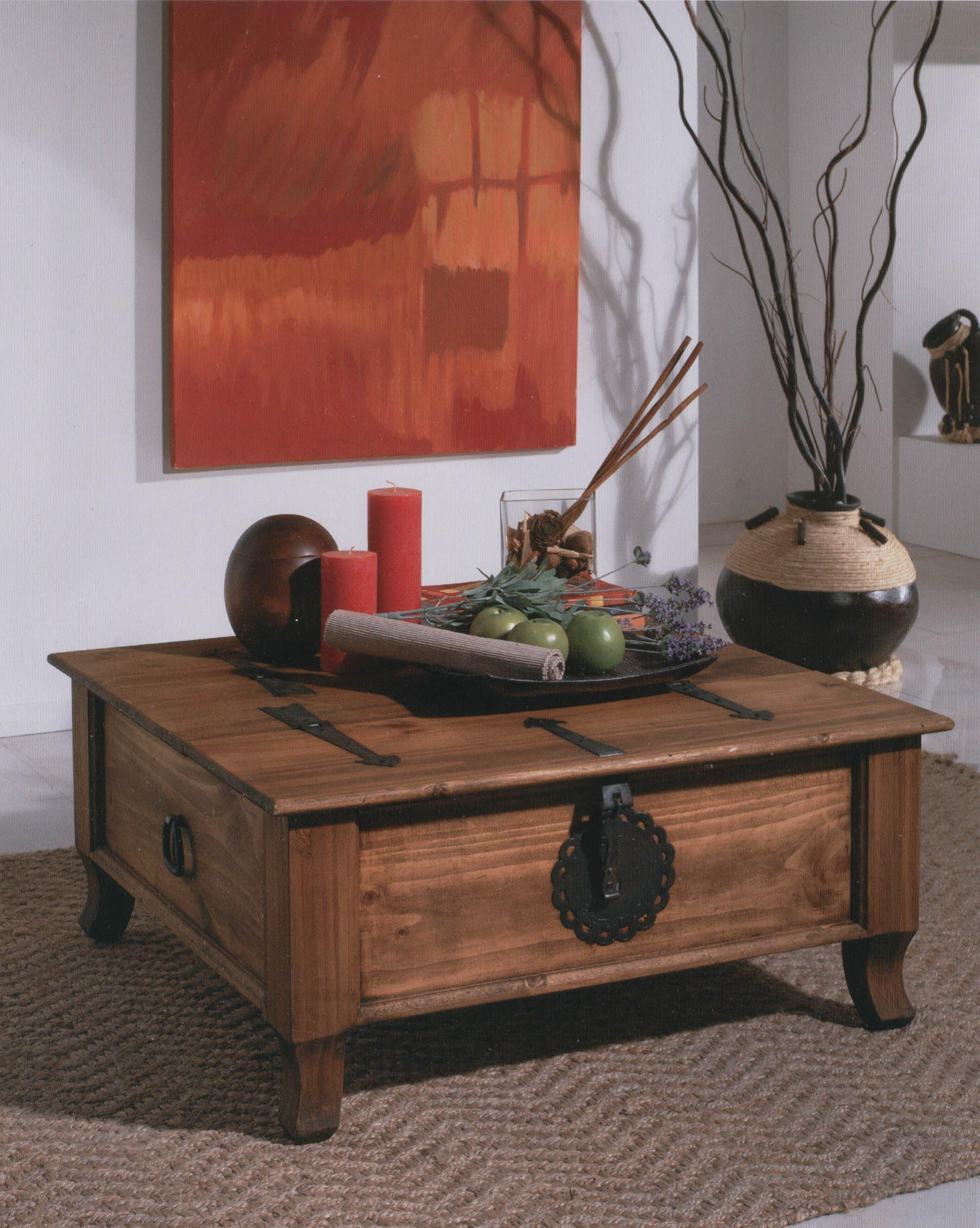 Chest Coffee Table Trunk