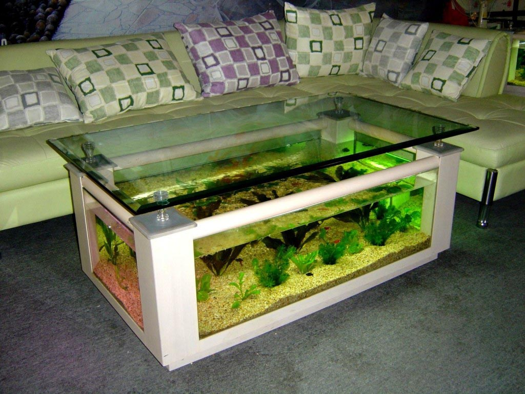- Coffee Table Aquarium Glass Fish Tank Coffee Table Design Ideas