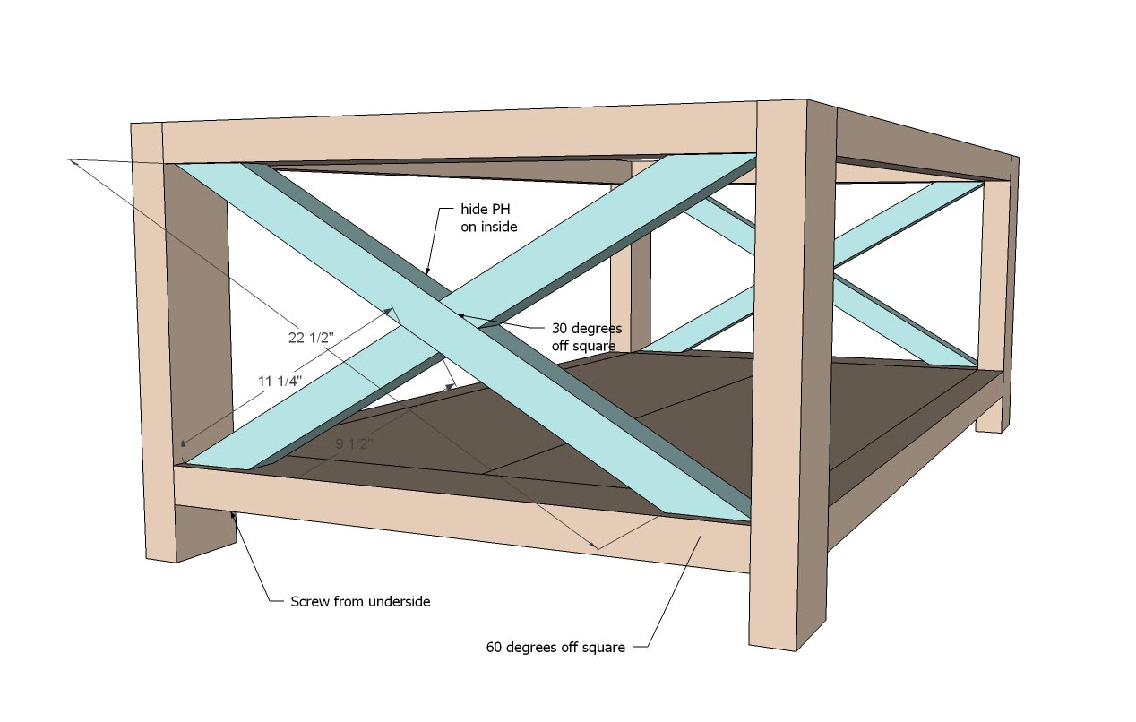 Coffee Table Design Plans