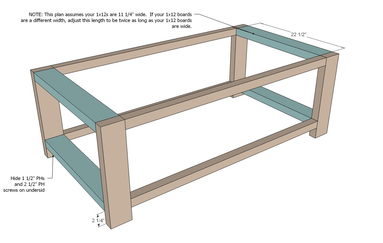 Coffee table diy plans coffee table design ideas Homemade coffee table plans