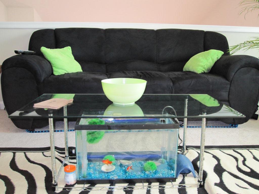 Coffee Table Fish Aquarium