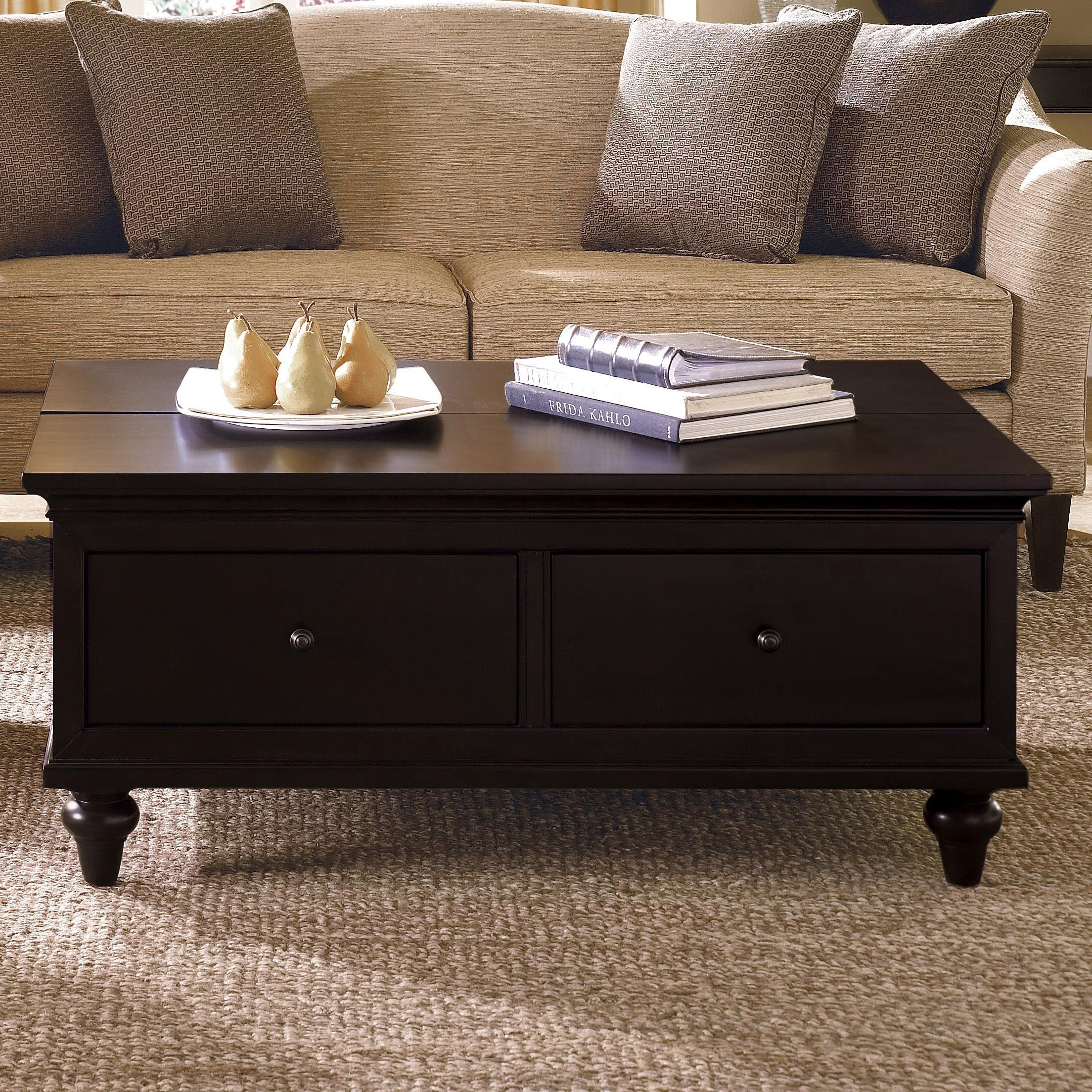Coffee Table Plans with Drawers