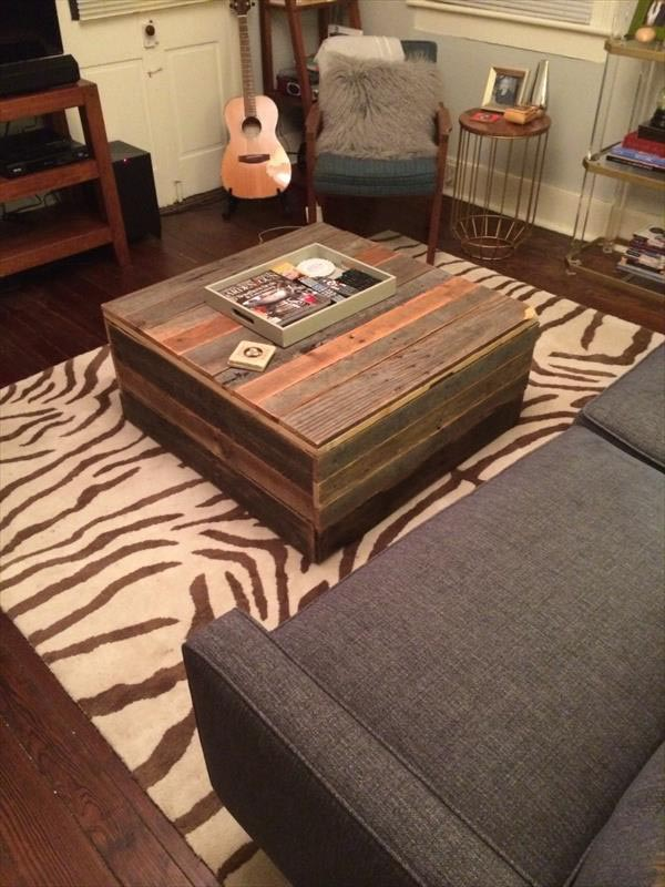 Coffee Table Storage Chest