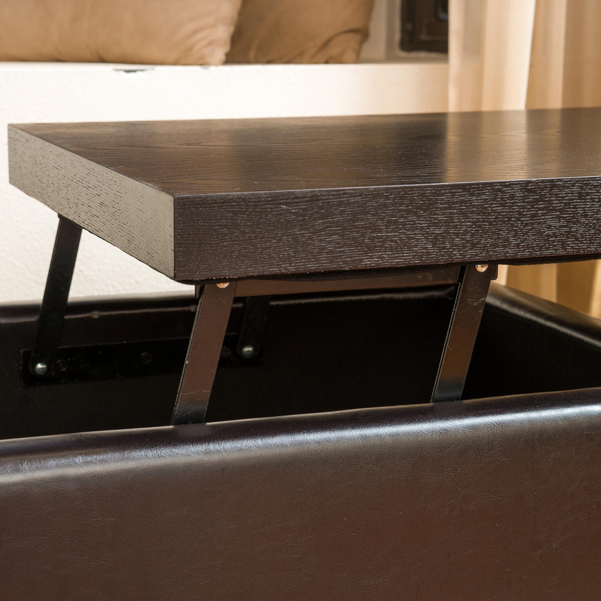 Coffee Table Storage Ottoman