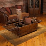 Coffee Table Storage Trunk