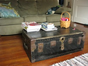 Coffee Table Trunk Chest