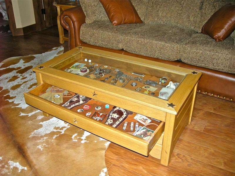 Display coffee table plans coffee table design ideas for Display coffee table