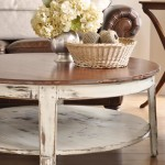 Distressed Coffee Table Set