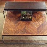 Distressed Oak Coffee Table