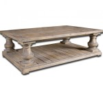 Distressed Wood Coffee Table