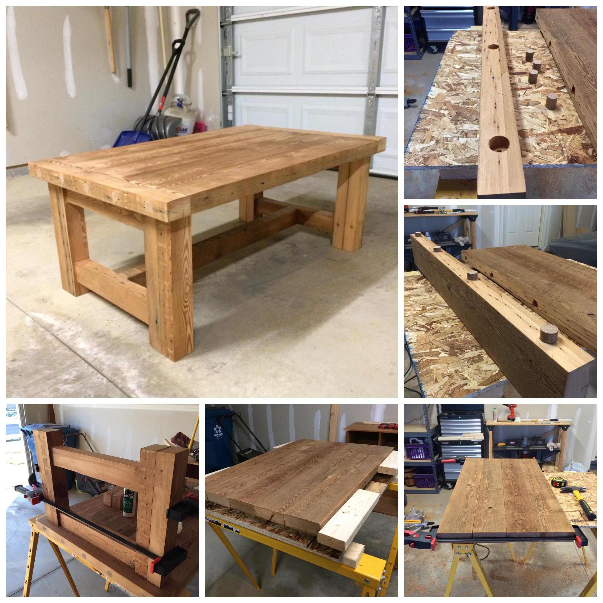 Cedar Coffee Table Plans