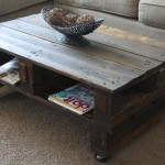 DIY Coffee Table with Drawers