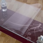 Glass Coffee Table Cover