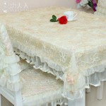 Lace Coffee Table Cover
