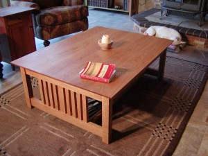 Mission Coffee Table Plans