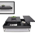 Modern Coffee Table Storage