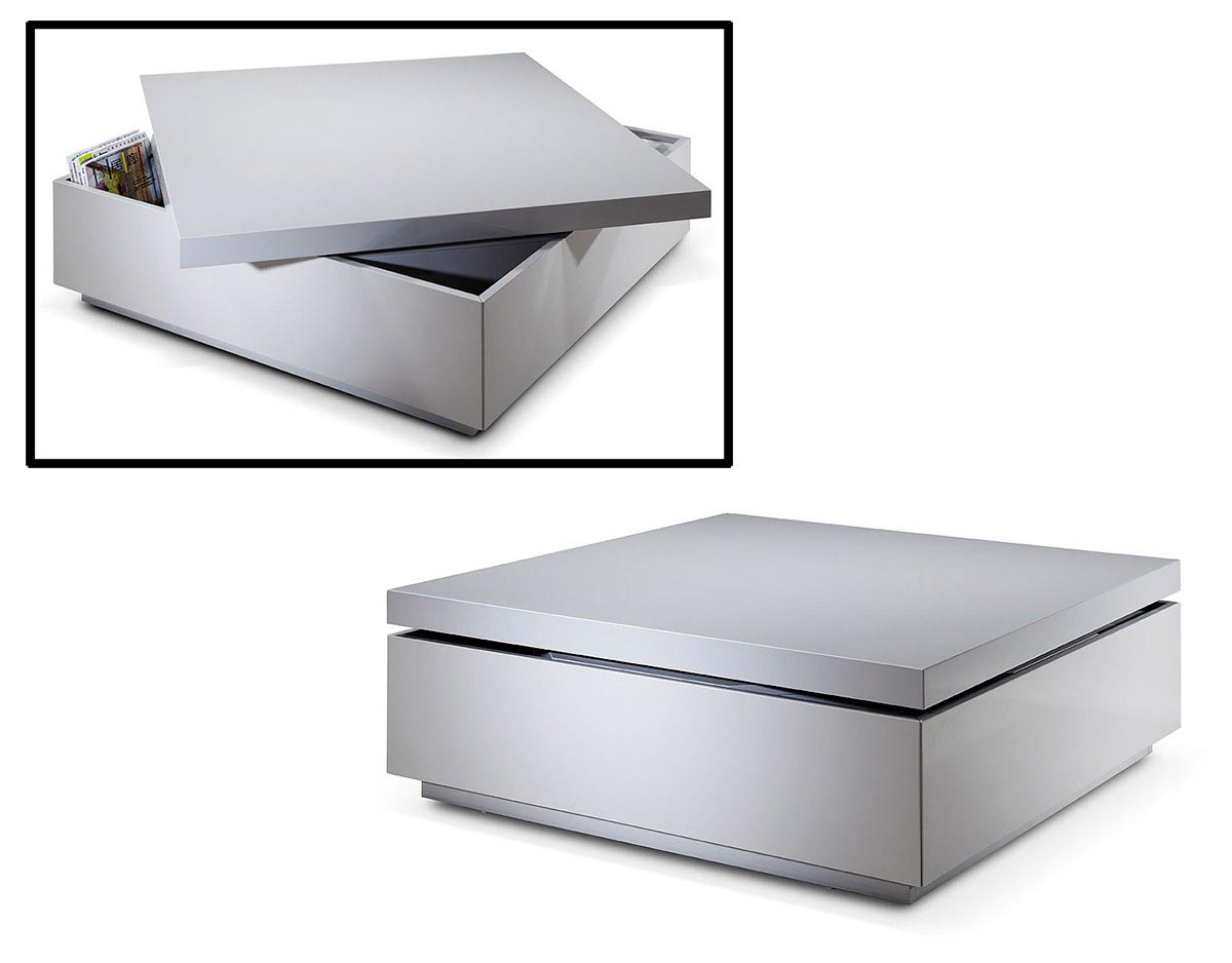 Modern storage coffee table coffee table design ideas for Innovative table