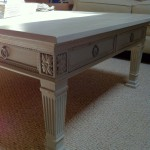 Painted Distressed Coffee Table