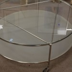 Round Aquarium Coffee Table
