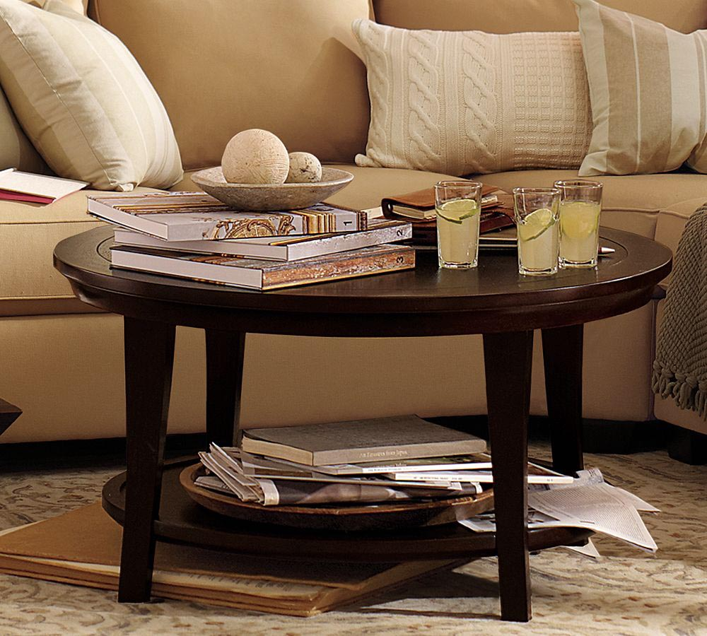 Round Coffee Table Accessories