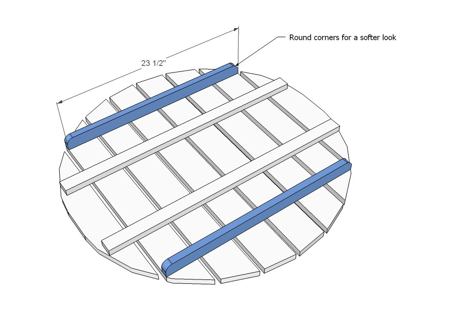 Round Coffee Table Plans
