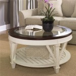 Round Painted Coffee Table