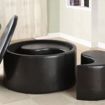 Round Storage Coffee Table