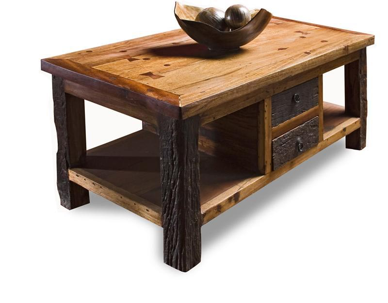 Rustic Coffee And End Table Sets Design Ideas