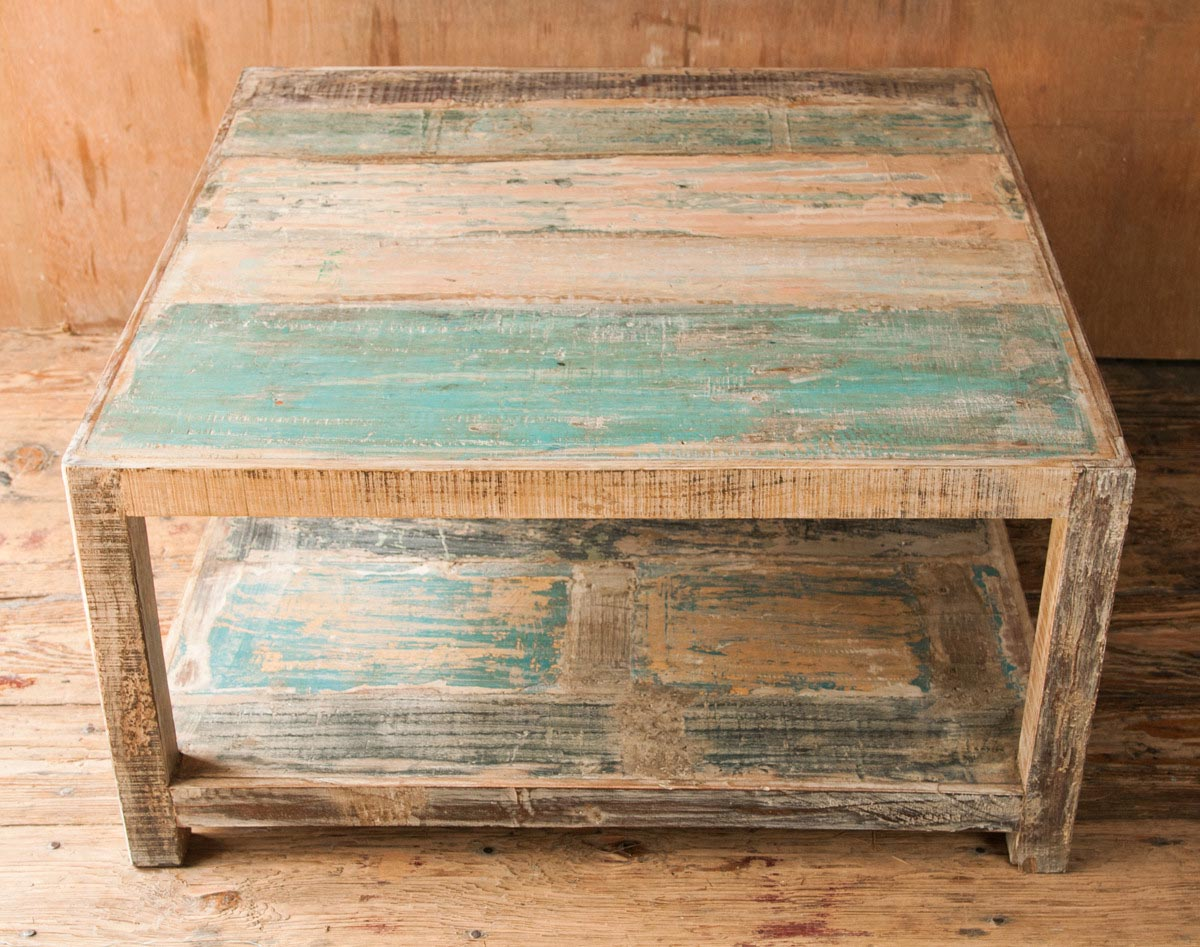 Rustic Distressed Coffee Table Coffee Table Design Ideas