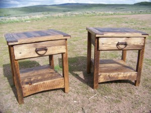 Rustic End Table Ideas