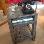 Rustic End Table Plans