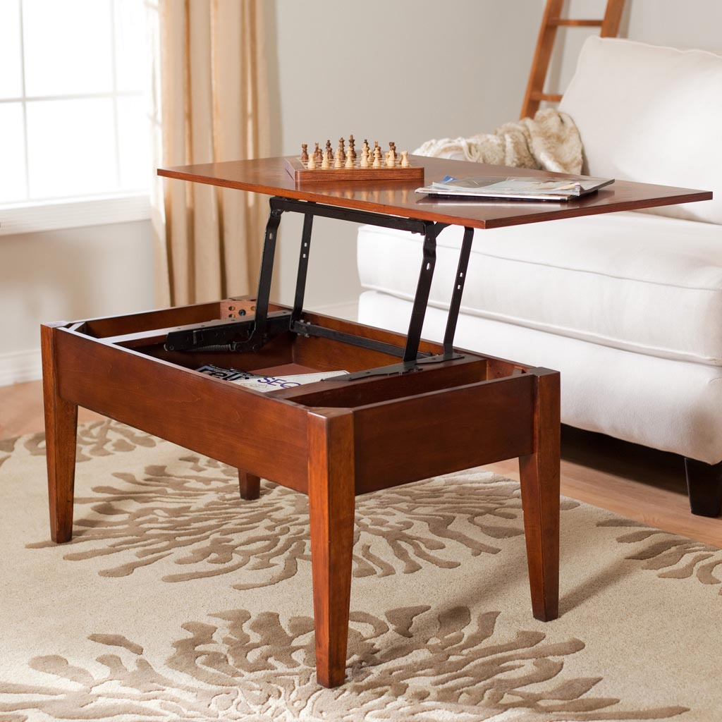 Small Storage Coffee Table