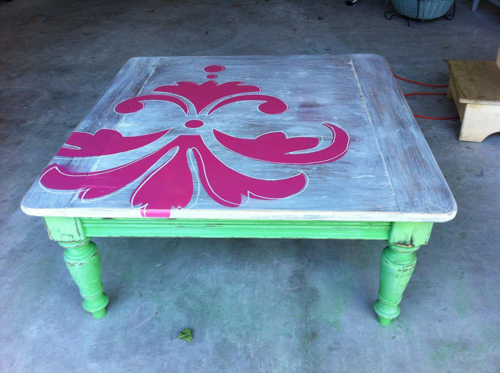 rustic painted coffee table coffee table design ideas
