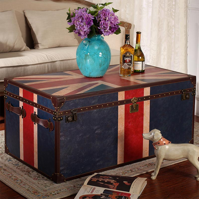 Storage Box Coffee Table