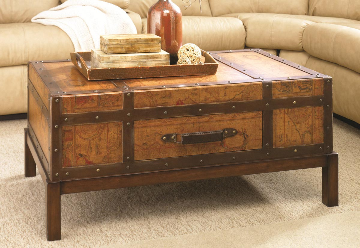 Storage Chest Coffee Table