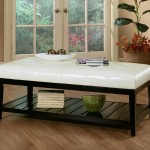 Storage Coffee Table Ottoman