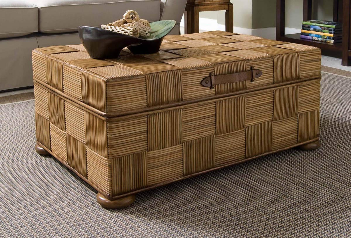 Trunk Coffee Table with Drawers