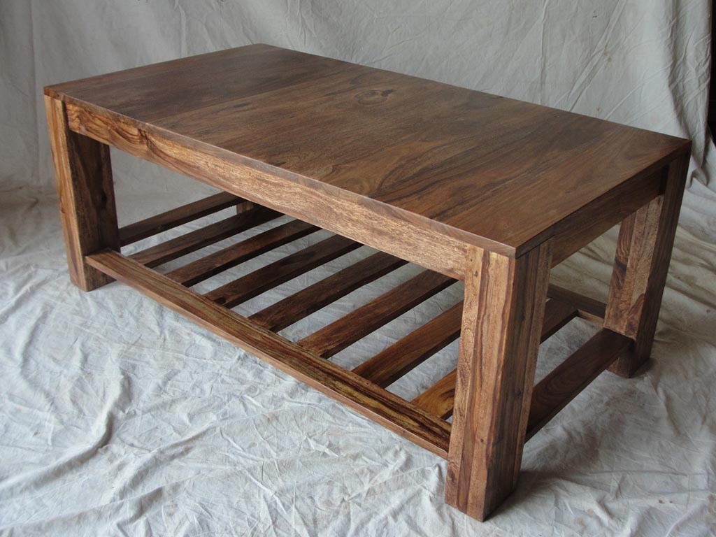 Wood coffee table plans coffee table design ideas for Wooden table designs images