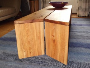 Wooden Folding Coffee Table
