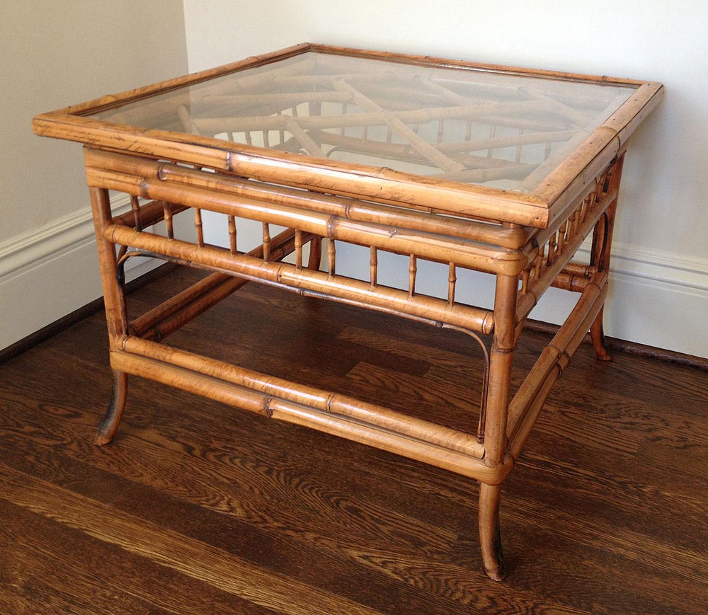 Bamboo Glass Coffee Table Coffee Table Design Ideas