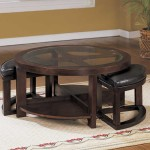 Circular Coffee Table Plans