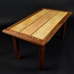 Curly Maple Coffee Table